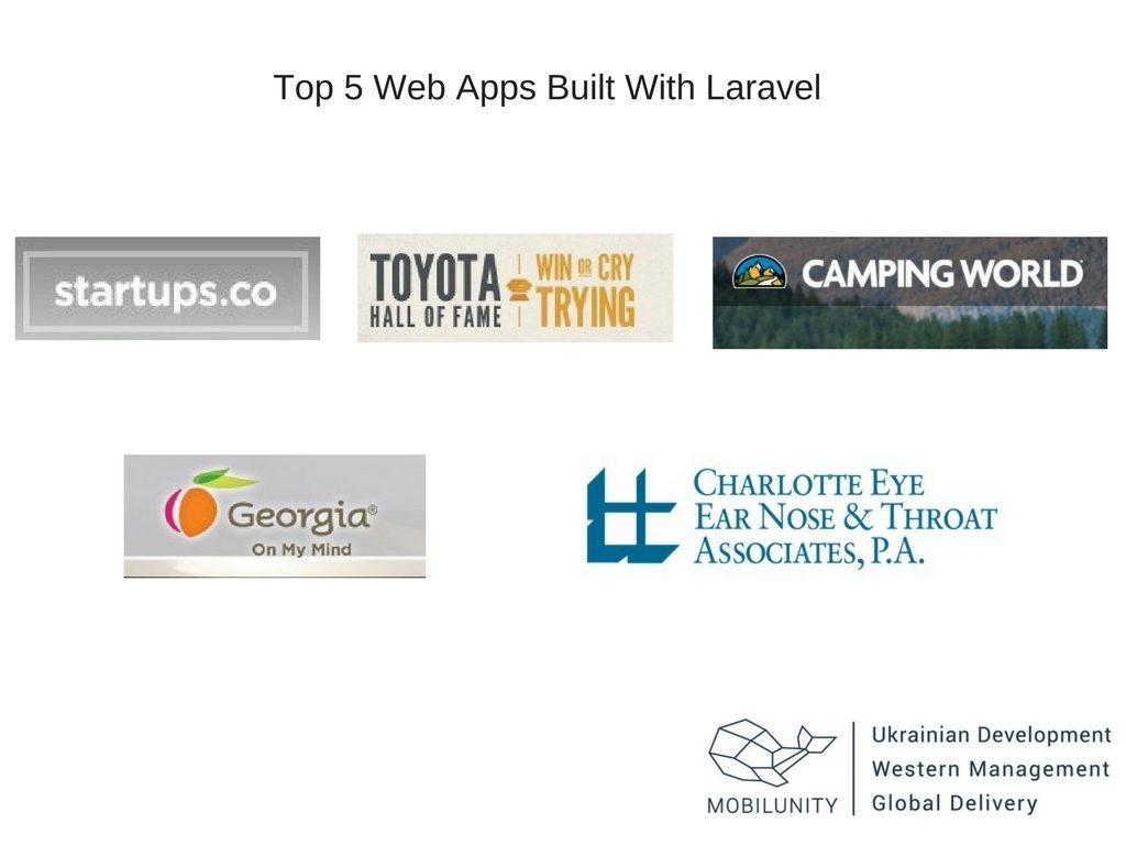 laravel application developer